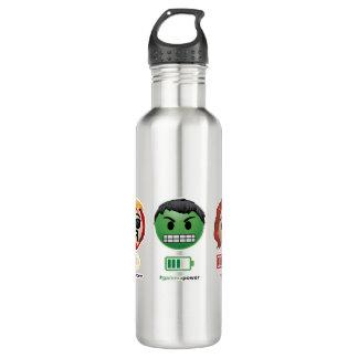 Avengers Power Emoji 710 Ml Water Bottle