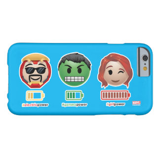 Avengers Power Emoji Barely There iPhone 6 Case