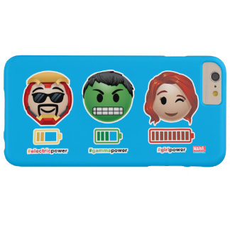 Avengers Power Emoji Barely There iPhone 6 Plus Case