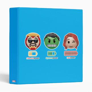 Avengers Power Emoji Binder