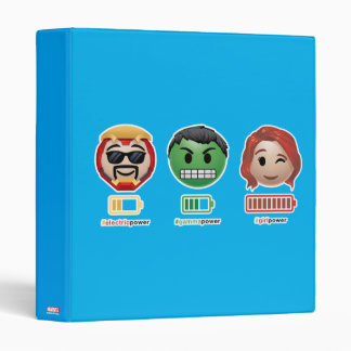 Avengers Power Emoji Binders