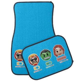 Avengers Power Emoji Car Mat