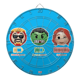 Avengers Power Emoji Dartboards