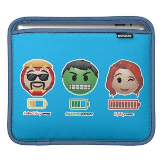 Avengers Power Emoji iPad Sleeve