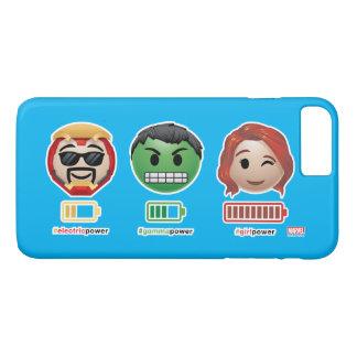 Avengers Power Emoji iPhone 8 Plus/7 Plus Case