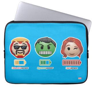 Avengers Power Emoji Laptop Sleeve