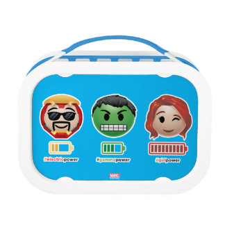 Avengers Power Emoji Lunch Box