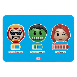 Avengers Power Emoji Magnet