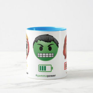 Avengers Power Emoji Mug