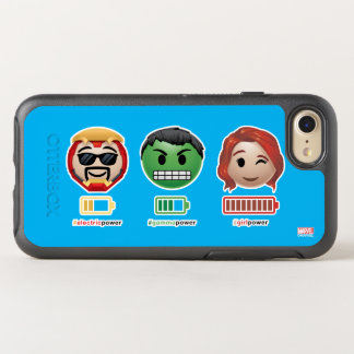 Avengers Power Emoji OtterBox Symmetry iPhone 8/7 Case