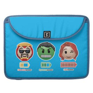 Avengers Power Emoji Sleeve For MacBook Pro