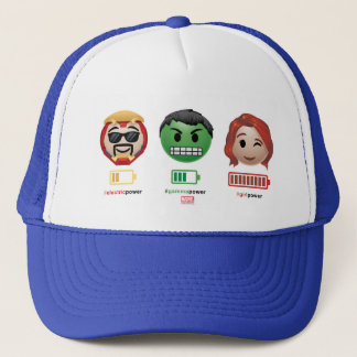 Avengers Power Emoji Trucker Hat