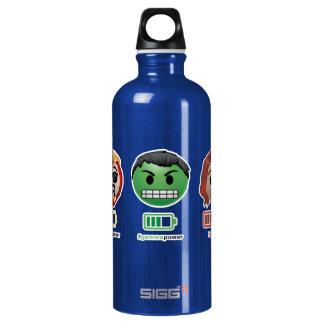 Avengers Power Emoji Water Bottle