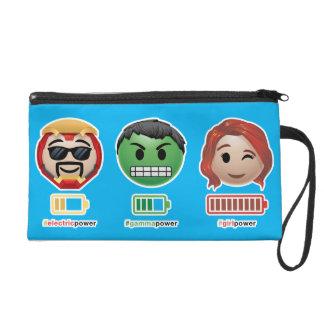 Avengers Power Emoji Wristlet