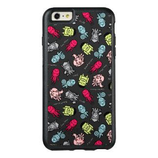 Avengers Simple Line Art Toss Pattern OtterBox iPhone 6/6s Plus Case