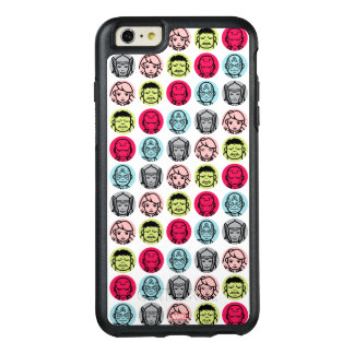Avengers Stylized Line Art Icons Pattern OtterBox iPhone 6/6s Plus Case