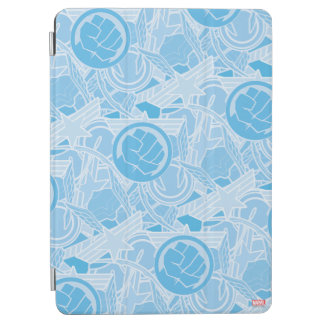 Avengers Symbols Pattern iPad Air Cover