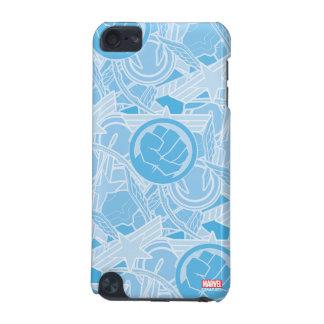 Avengers Symbols Pattern iPod Touch (5th Generation) Case
