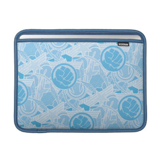 Avengers Symbols Pattern MacBook Air Sleeve