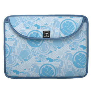 Avengers Symbols Pattern Sleeves For MacBook Pro