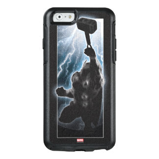 Avengers Thor Character Silhouette OtterBox iPhone 6/6s Case