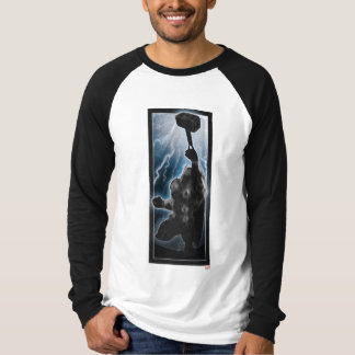 Avengers Thor Character Silhouette T-Shirt