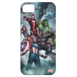 Avengers Versus Loki Drawing Case For The iPhone 5