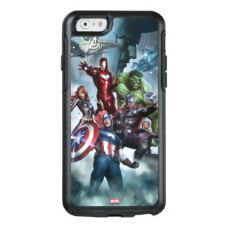 Avengers Versus Loki Drawing OtterBox iPhone 6/6s Case
