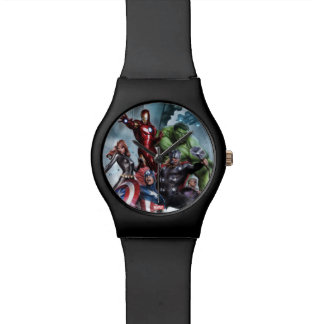 Avengers Versus Loki Drawing Watch