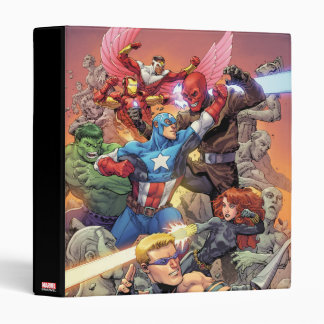 Avengers Versus Red Skull 3 Ring Binders