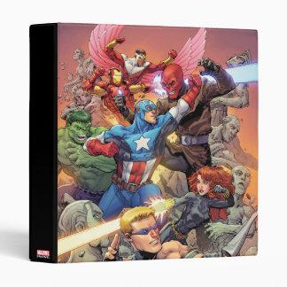 Avengers Versus Red Skull Binder