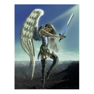 Avenging Angel Postcard