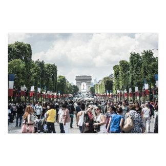 Avenue des Champs-Élysées Photographic Print