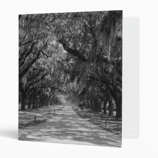 Avenue Of Oaks Grayscale Binder