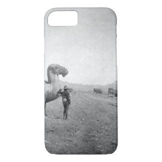 Avenue of Statues, on road _War Image iPhone 7 Case