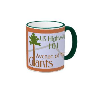 Avenue of the Giants Coffee Mugs