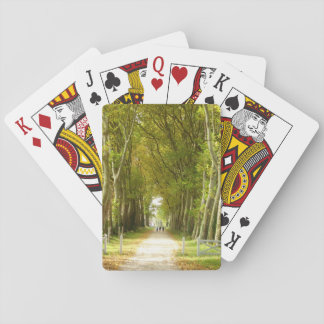 Avenue of Trees Classic Playing Cards