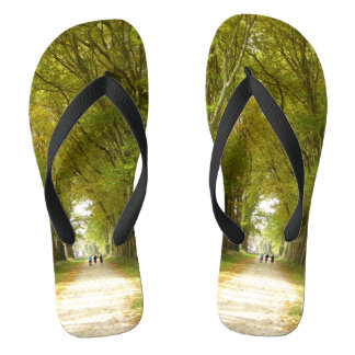 Avenue of Trees Flip Flops