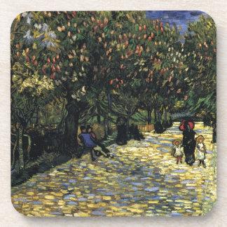 Avenue with Chestnut Trees at Arles - Van Gogh Coaster