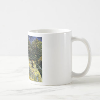 Avenue with Chestnut Trees at Arles - Van Gogh Coffee Mug