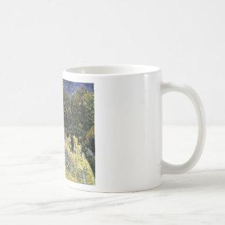 Avenue with Chestnut Trees at Arles - Van Gogh Coffee Mug