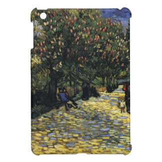 Avenue with Chestnut Trees at Arles - Van Gogh iPad Mini Covers