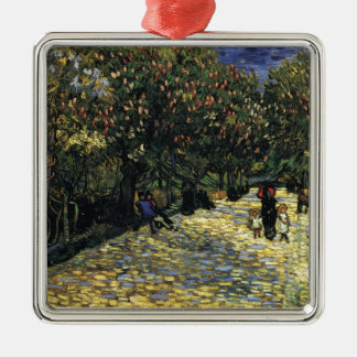 Avenue with Chestnut Trees at Arles - Van Gogh Metal Ornament