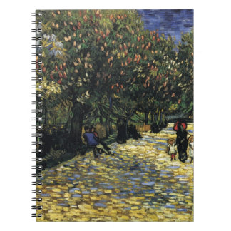 Avenue with Chestnut Trees at Arles - Van Gogh Notebook