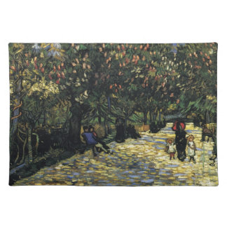 Avenue with Chestnut Trees at Arles - Van Gogh Placemat