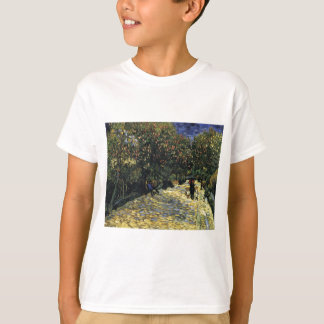 Avenue with Chestnut Trees at Arles - Van Gogh T-Shirt