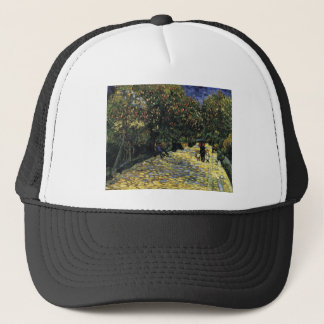 Avenue with Chestnut Trees at Arles - Van Gogh Trucker Hat
