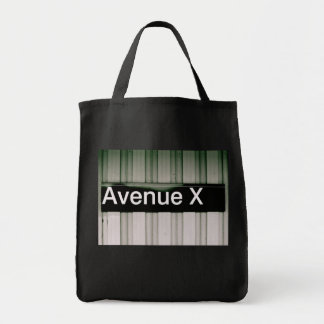 Avenue X Grocery Tote Bag