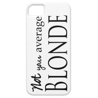 Average Blonde Case For The iPhone 5