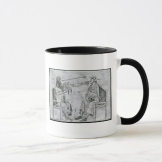Averroes  in Conversation with Porphyry Mug